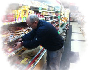 Gary at Hudd's Food Center